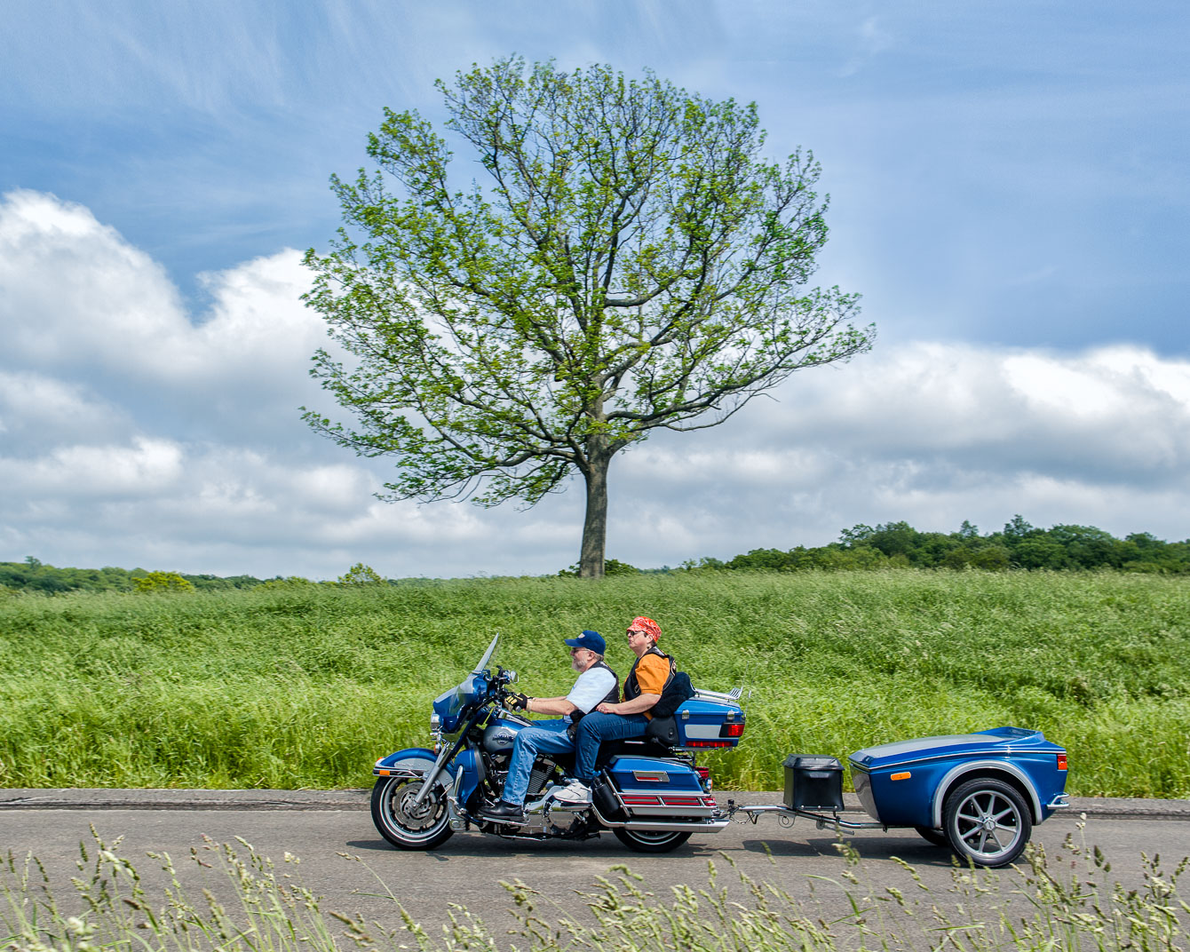 Connecticut couple on modified motorcycle for wife with Multiple Sclerosis